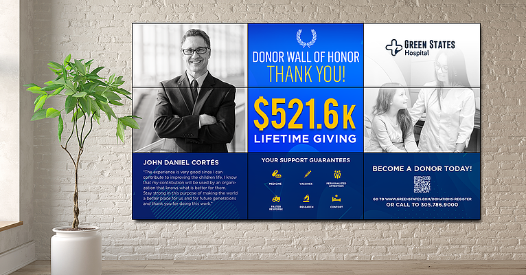 Donor Cultivation Ideas with Digital Signage
