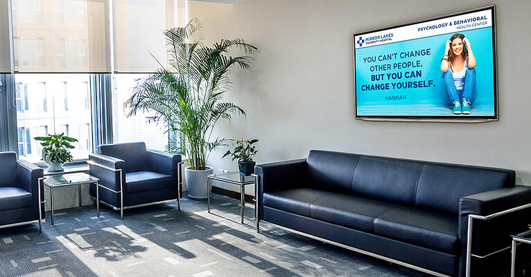 Digital Waiting Room Signs for Patients, What to Know