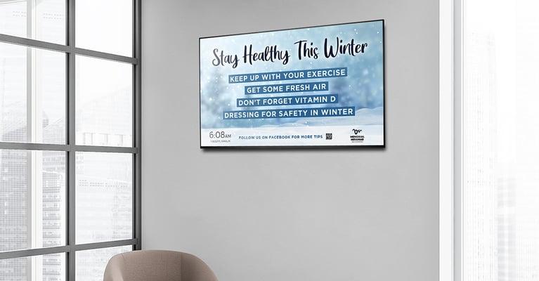 Seasonal Healthcare Content to Help Waiting Room Patients