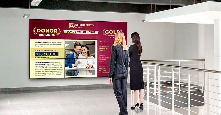 Digital Donor Recognition Walls – What to Know