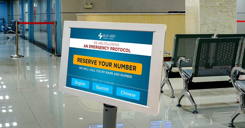 check in kiosk hospital