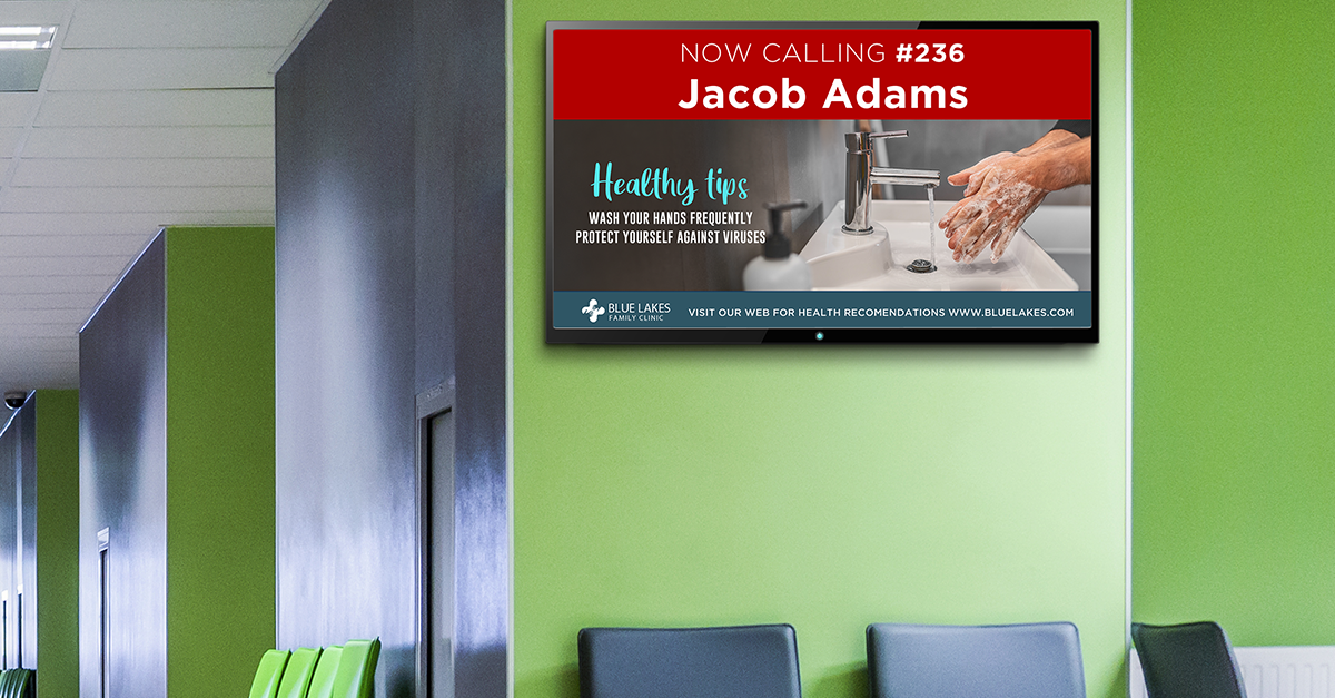Tips for Creating the Best Digital Signage Content for Healthcare