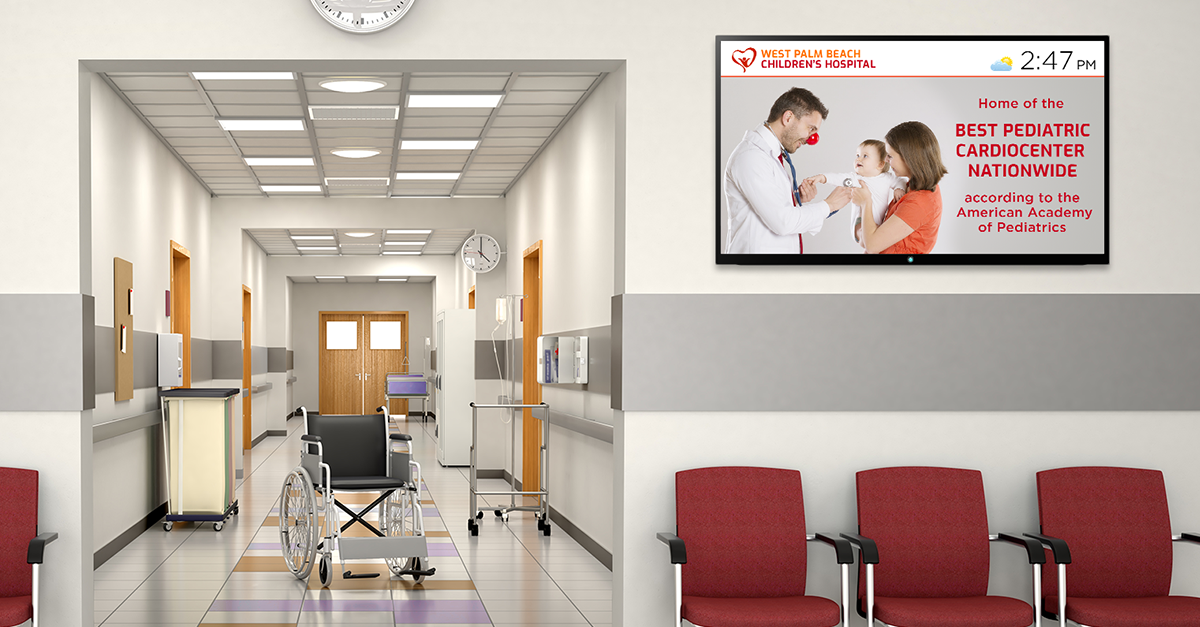 4 Ways to Boost Hospital Transparency with Digital Signage