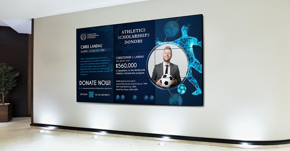 Donor Board Artwork Integrations