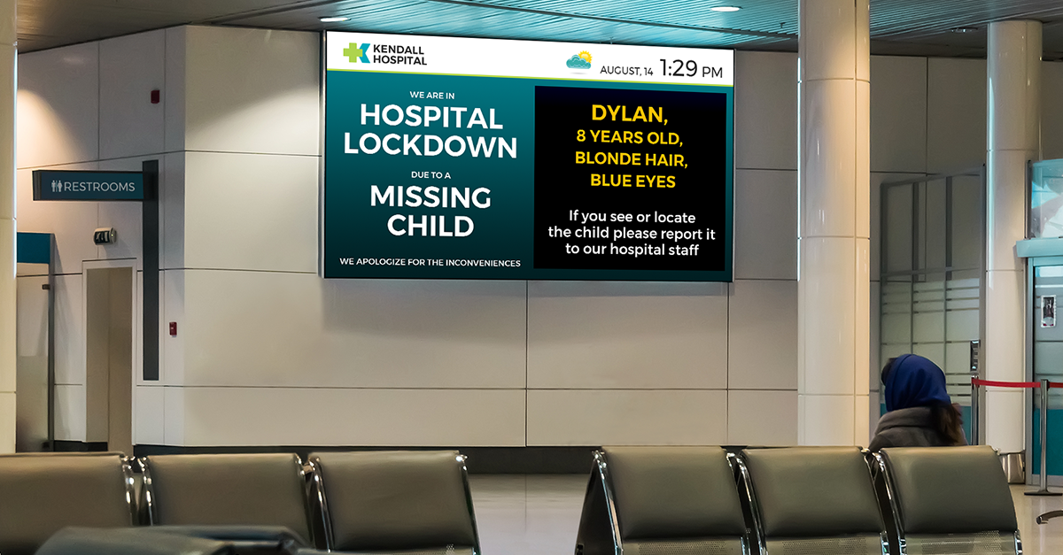 Effective Digital Signage Content for a Crisis