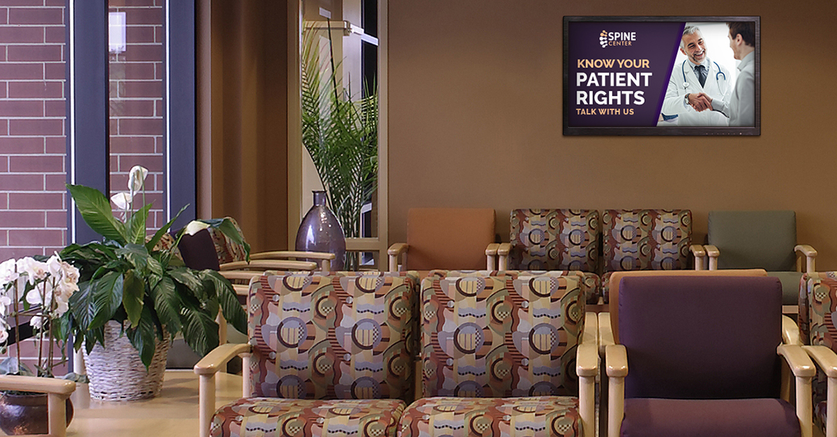 Boost Regulatory Compliance with Hospital Digital Signage Content