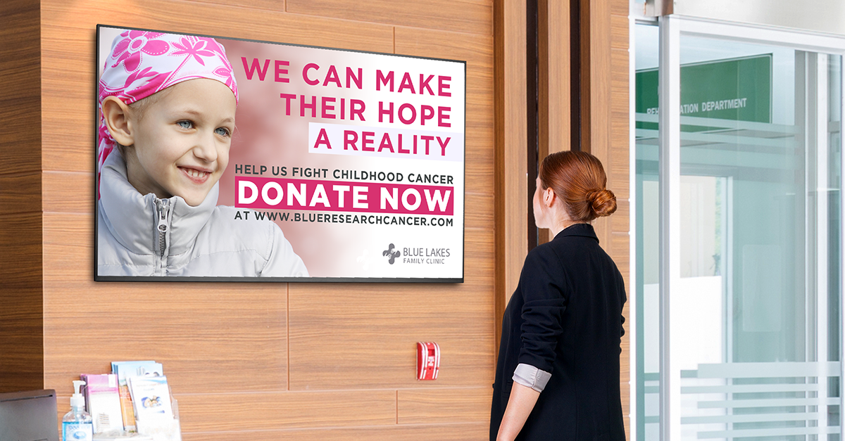 Hospital Fundraising Best Practices Meets Video Donor Walls