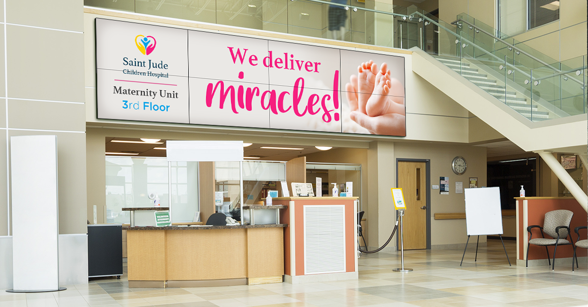 Healthcare Digital Signage Benefits - What to Know