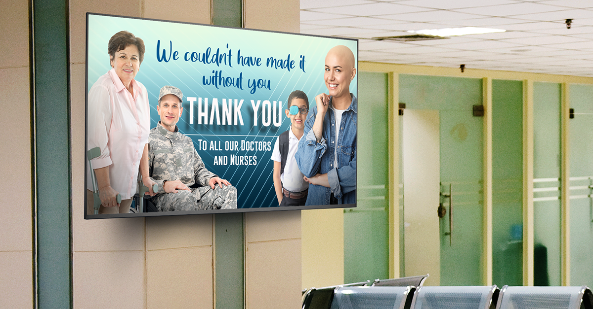 Doctor & Nurse Mental Health : How Digital Signage Helps