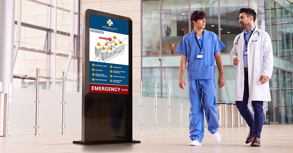 healthcare wayfinding digital