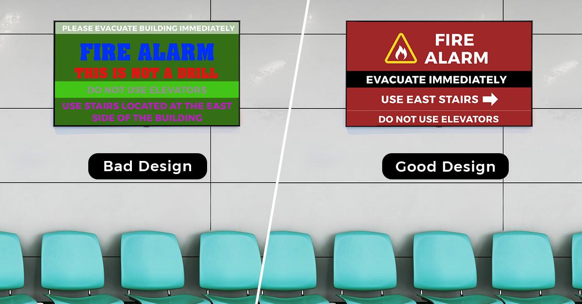 Adhere to Effective Design Principles